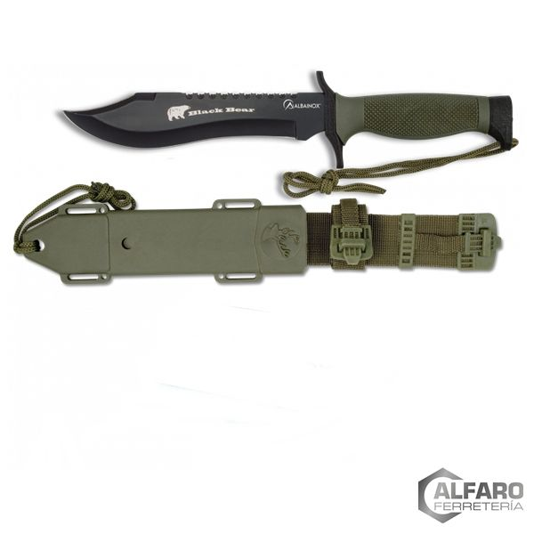 CUCHILLO SUPERVIVENCIA BLACK BEAR